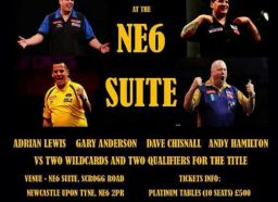 Newcastle masters of darts II